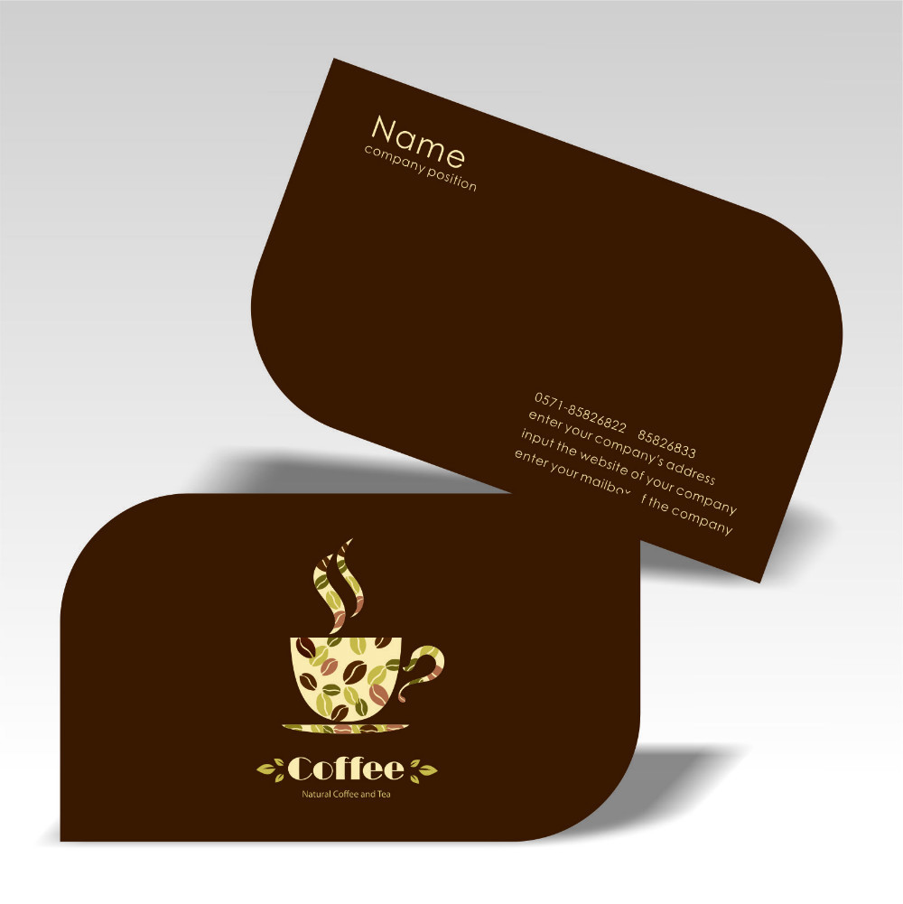 Business cards kuwait copy plus business card with special corner cut reheart Image collections