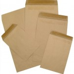 Manilla envelopes different sizes