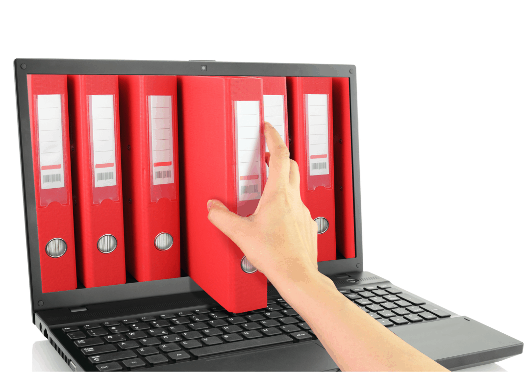 Archive your files in digital format